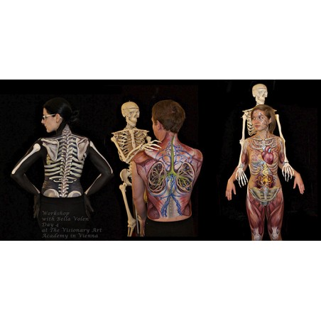 3 DAYS Bodypainting Workshop for 1
