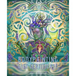Private bodypainting for 1 person