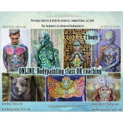 ONLINE Bodypainting Class...