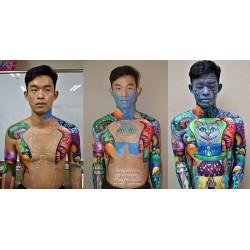 3 DAYS Bodypainting Workshop for 1