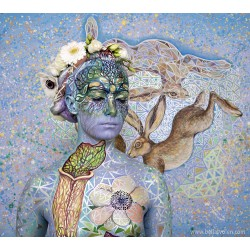 She and the 3 Hares
