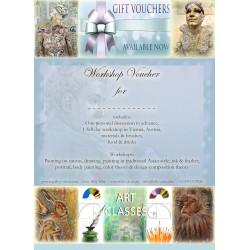 Art Workshop Gift Voucher